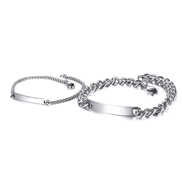 silver edition partnerarmband
