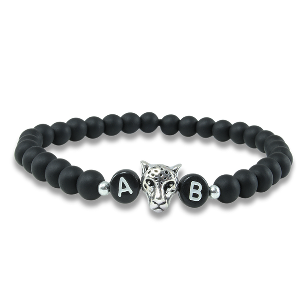 black tiger damenarmband