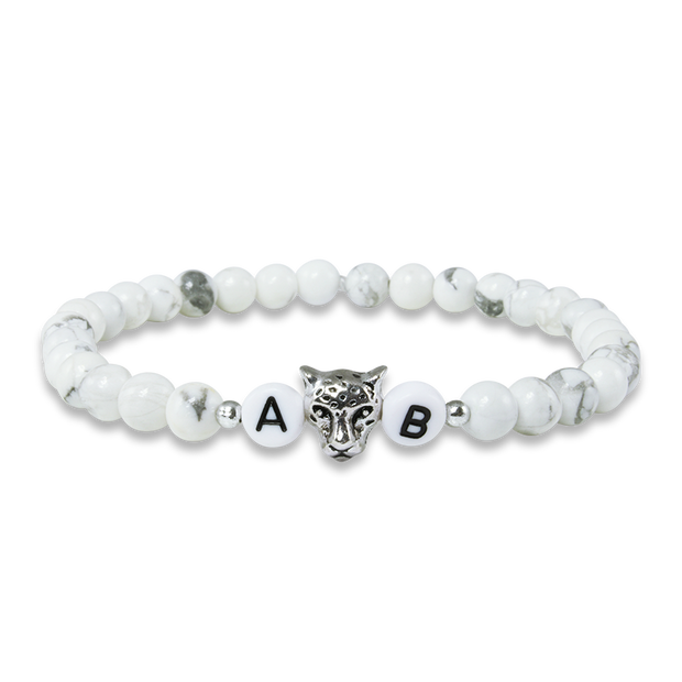 white tiger herrenarmband