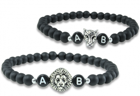 black lion partnerarmband