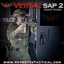 Load image into Gallery viewer, VerTac Swift Action Panel (Version 2) - VerTac Training and Gear