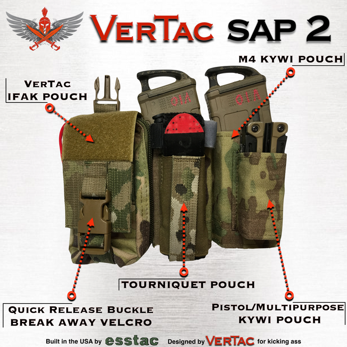 VerTac Swift Action Panel (Version 2) - VerTac Training and Gear