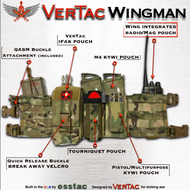 VerTac Wingman Chest Rig - VerTac Training and Gear