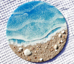 Seashell Beach Painting