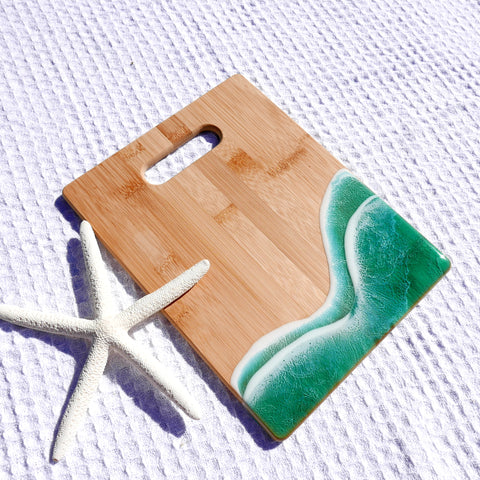 BC Lakes Cutting Board
