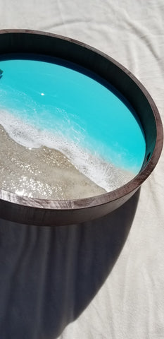 Turquoise Ocean Tray