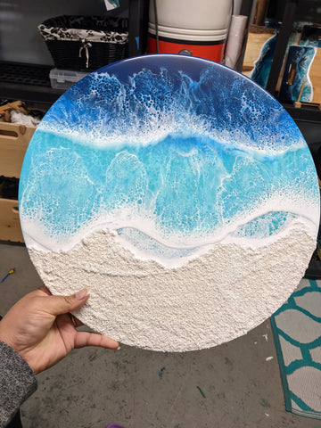 White Sandy Beach 16""
