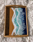 Large Bamboo Ocean Tray