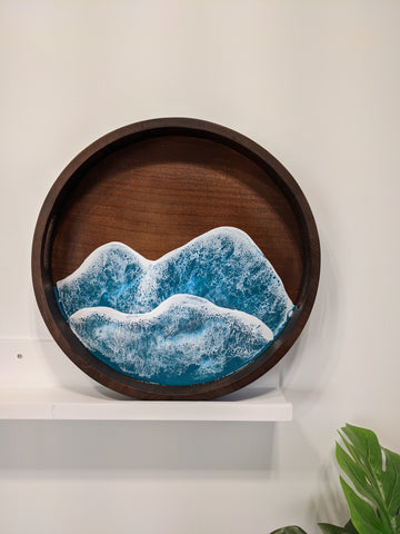 Turquoise Waters Serving Tray