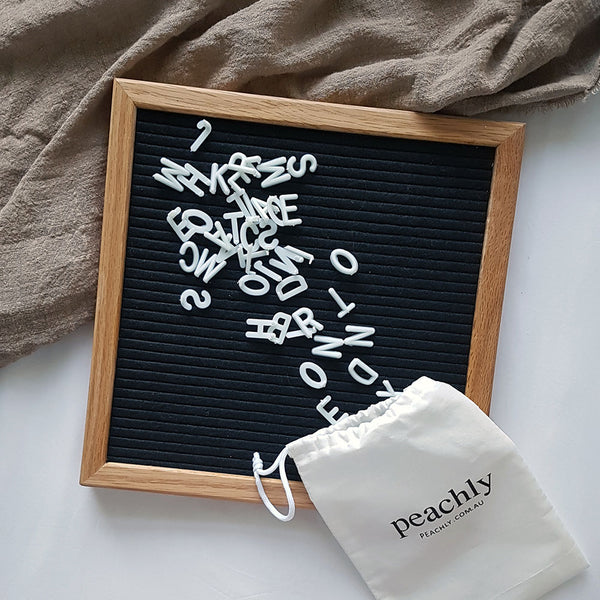 Black - Letter Board (10 x 10 Inches)