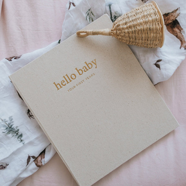 [Imperfect] Wild - Baby Record Book - Peachly Australia