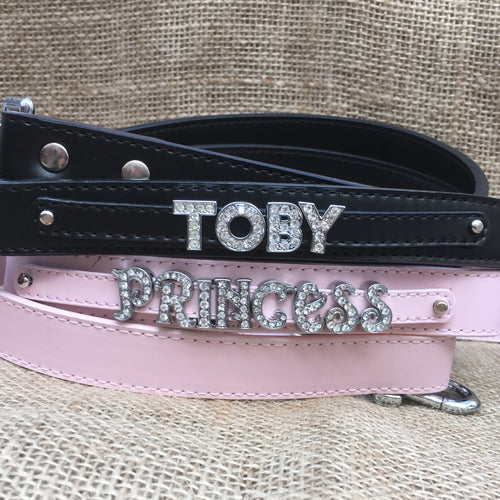 Personalised Leather Lead