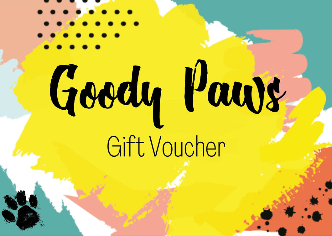 Goody Paws Gift Card