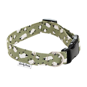 Green Sheep Collar