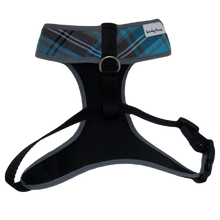Load image into Gallery viewer, Roger Blue Tartan Harness
