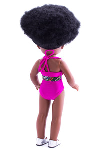 Nobuhle Swimsuit Pink - Sibahle Collection