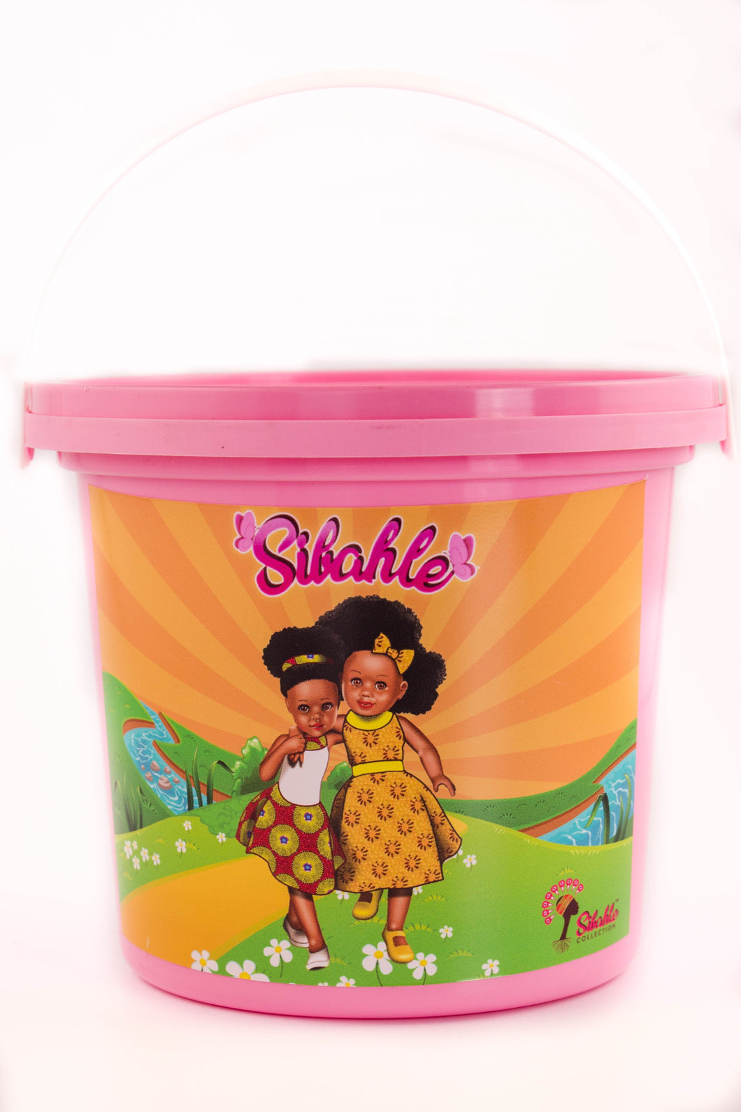 Sunshine Yellow Party Buckets - Sibahle Collection