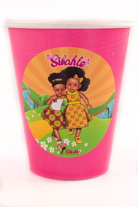Sunshine Yellow Party Cups - Sibahle Collection