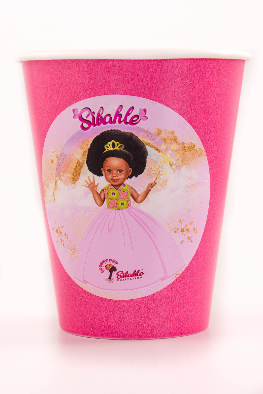 Pretty In Pink Party Cups - Sibahle Collection