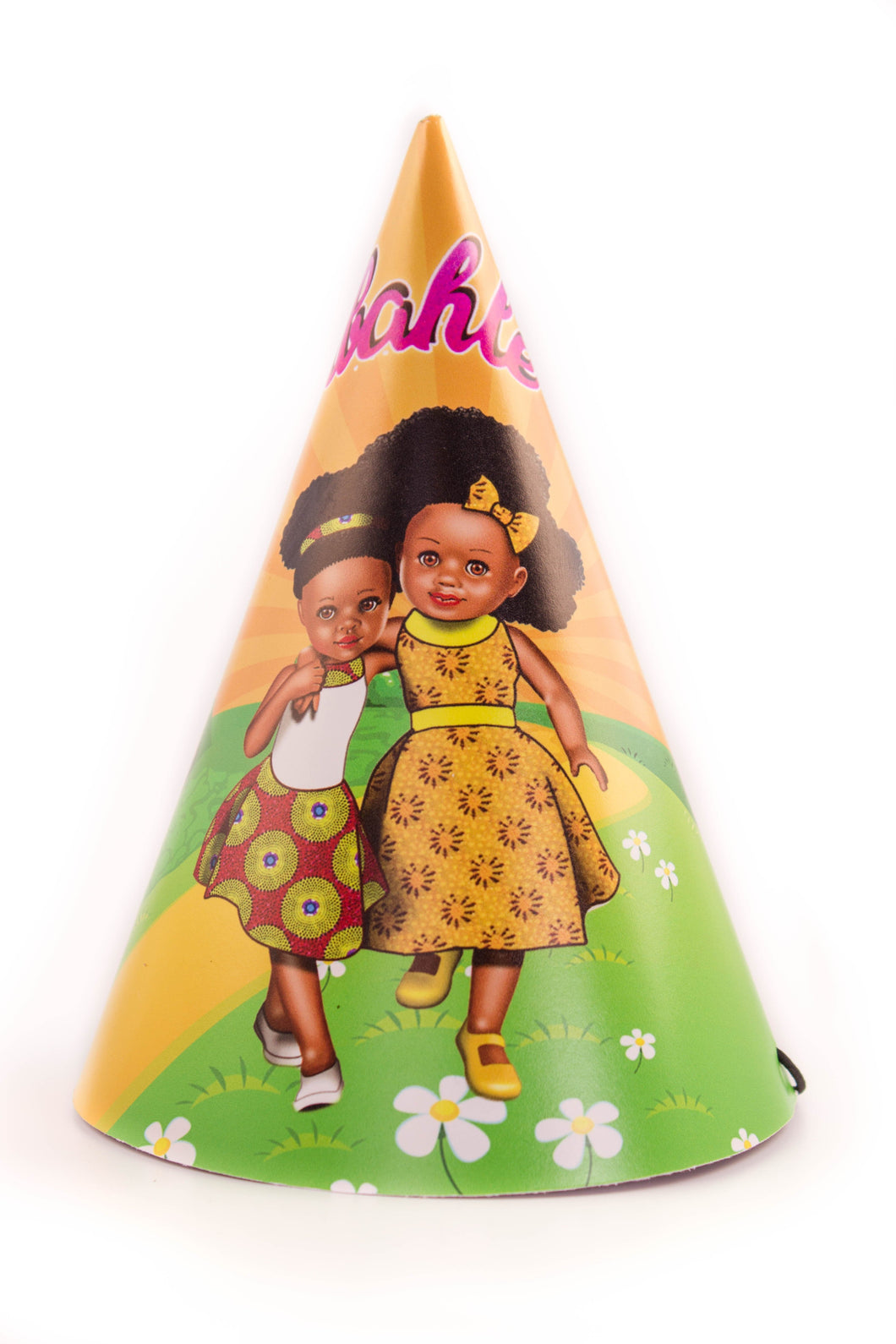 Sunshine Yellow Party Hats - Sibahle Collection
