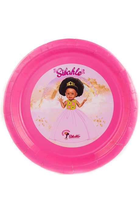 Pretty In Pink Party Plate - Sibahle Collection