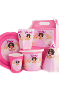 Pretty In Pink Party Pack - Sibahle Collection