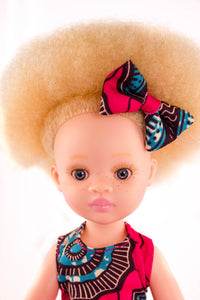 Zuri Vanilla Scented Afro Hair Albino Doll - Sibahle Collection
