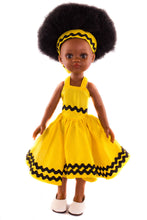 Xhosa Dress Yellow Stripe - Sibahle Collection