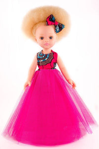 Zuri Vanilla Scented Afro Hair Doll with Albinism - Sibahle Collection