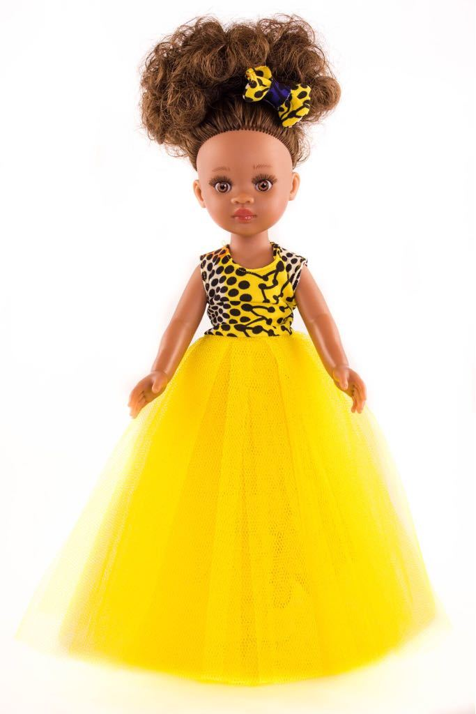 Ayana Vanilla Scented Mixed Race Doll - Sibahle Collection