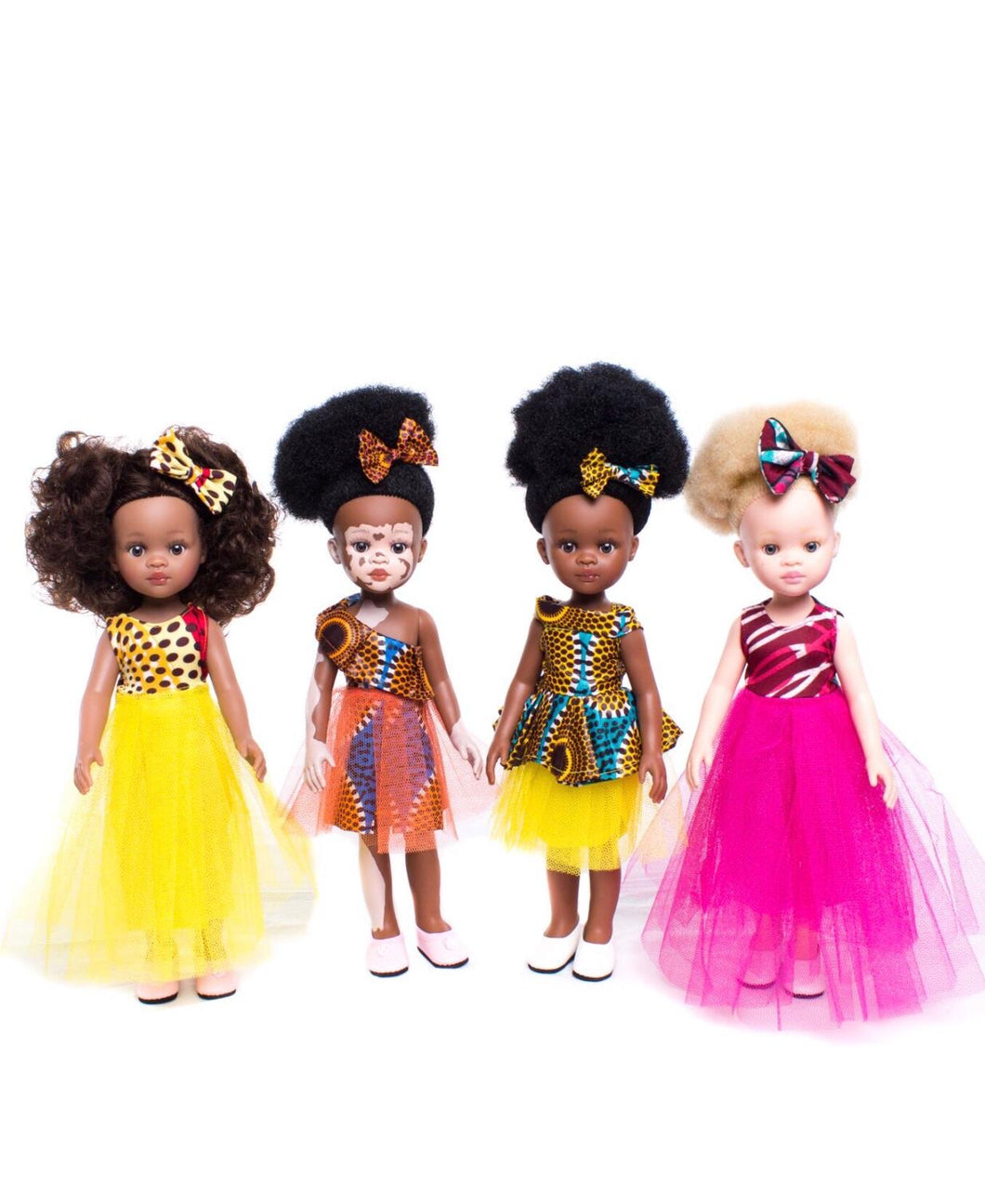 Rainbow Nation 4 doll Set
