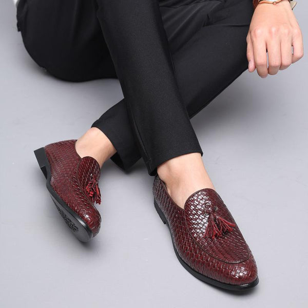 Men's Fashion Tassel Leather Shoes