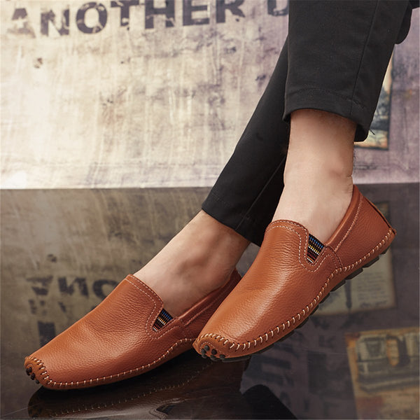Casual Plainsoft Flat Loafer Shoes