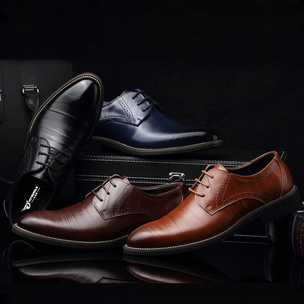 Fashion Pointed Business Men Oxford Shoes