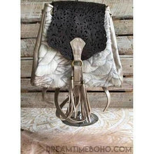 Load image into Gallery viewer, MOOLAH HAND TOOLED LEATHER BOHO BACKPACK-Backpack-Dreamtime Boho-Champagne-Dreamtime Boho