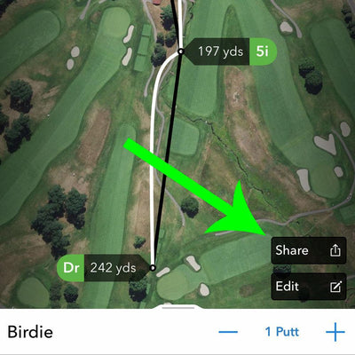 Tech Tuesday: How To Share A Hole From Arccos Caddie (Without Taking A Screenshot)