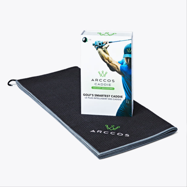 Arccos Caddie Father's Day Bundle - Towel
