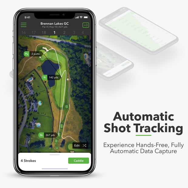 Automatic Shot Tracking - Experience hands-free, fully automatic data capture