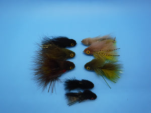 SALE WH Small Streamer Kit(8 Flies)