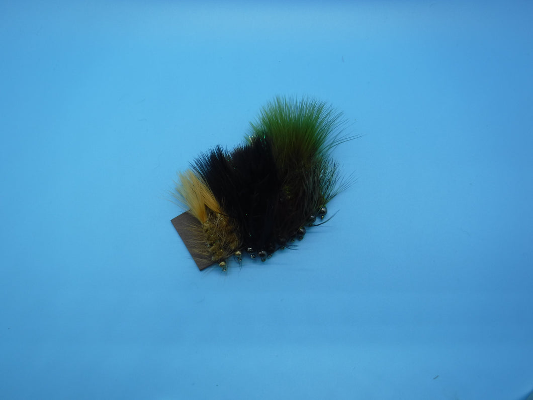 SALE Tungsten Wooly Bugger Popular Colors Kit(10 Flies)