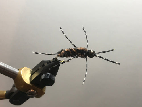 Xmas SALE Tungsten Rubber Legs Stonefly