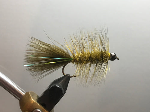 Xmas SALE Tungsten Flash Bugger(Sculpin Olive)