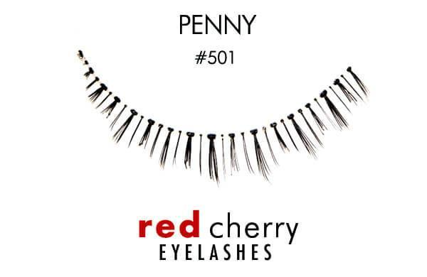 Red Cherry Lashes 501 - Penny