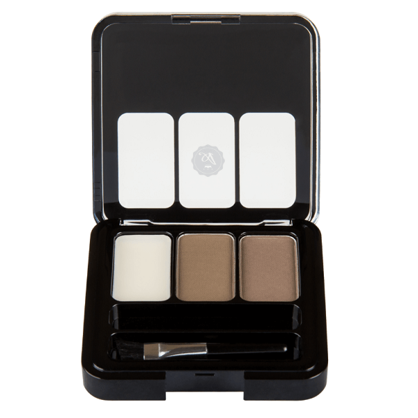 hd eyebrow kit - absolute new york - aebk01 ash blonde