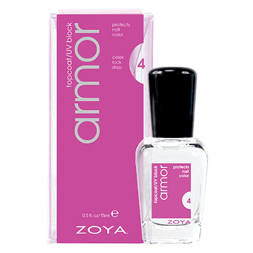 armor top coat - zoya - top coat