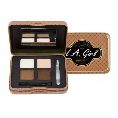 inspiring brow palette - la girl - brow kit