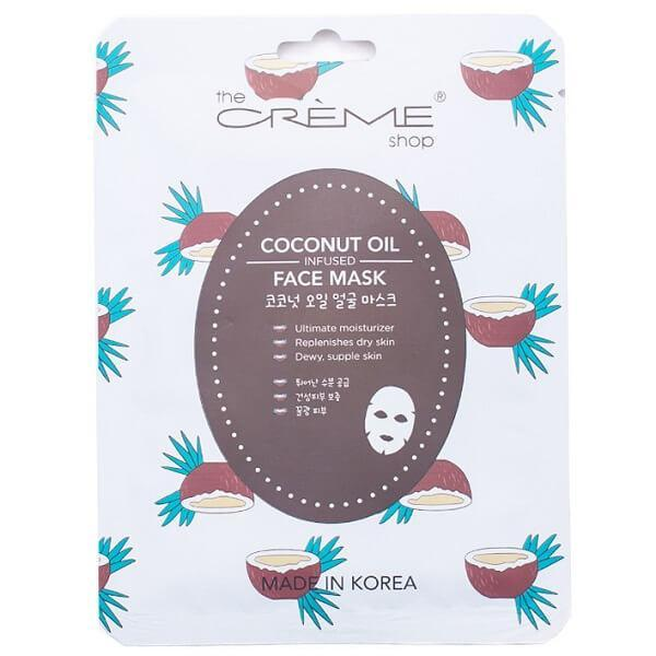 coconut oil face mask - the crème shop - face mask