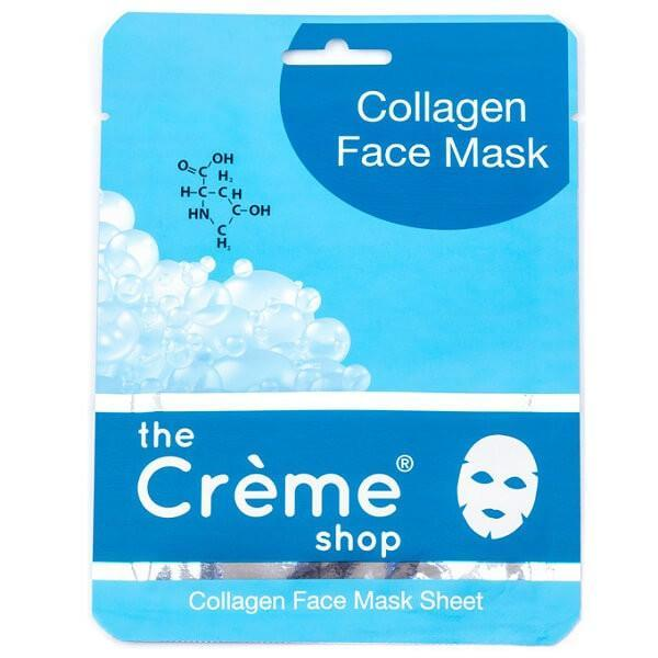collagen face mask - the creme shop - face mask