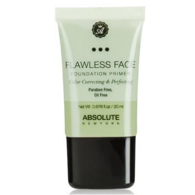 flawless face foundation primer - green - absolute new york - primer