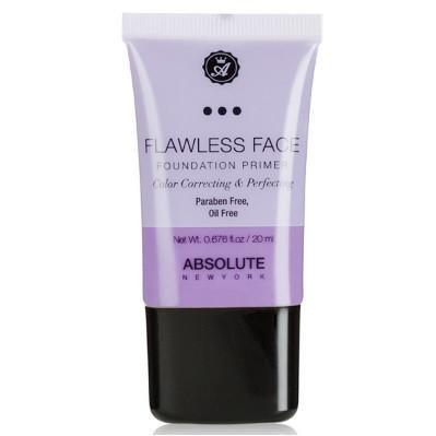 flawless face foundation primer - lavender - absolute new york - primer